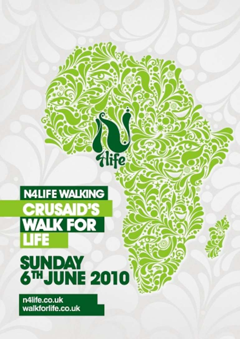 N4LIFE Walk For Life Flyer Front