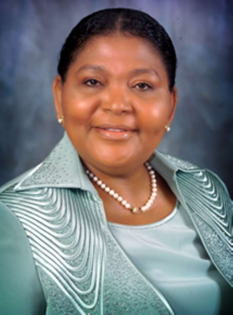 chief executive officer of Oceanic Bank PLC, Mrs Cecilia Ibru