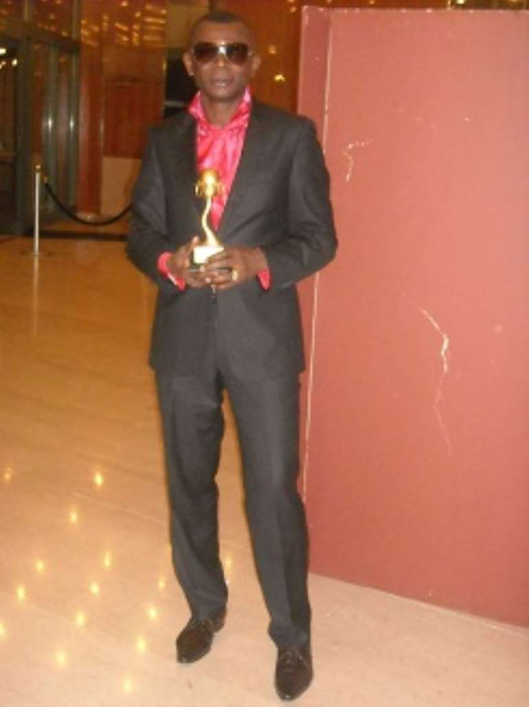BEST NIGERIAN DESIGNER IN DIASPORA AWARD - ADEBAYO JONES