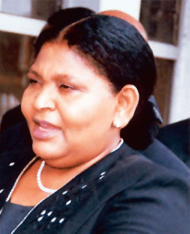 Mrs. Cecilia Ibru, former CEO of Oceanic International Bank