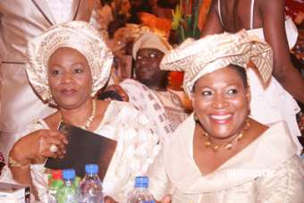 wife of Late Bashorun MKO Abiola, Bisi and Chief Mrs.Kemi Nelson a former Commissioner in Lagos State<br/>