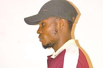 Nigerian journalist Sikiru Obarayese is seen after being attacked by police. (Photo: Sikiru Obarayese)