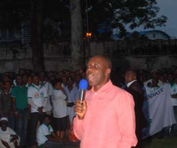 GOV AMAECHI ADRESSING PPA MAEMBERS AT THE GOVT HOUSE