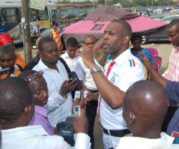 PRINCE TONYE PRINCEWILL ADRESSING MEN OF THE PRESS