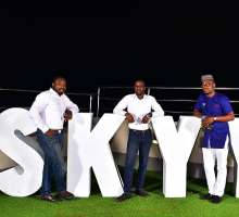 See Lil Kesh, Reekado Banks, Mr 2kay, Bolanle Olunkanni, VJ Adams, Uti  and more partying it up at Skyy Vodka Life In The Skyy Party