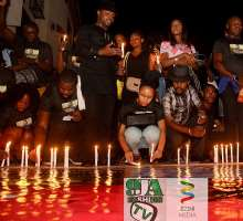 Sorrow And Tears As Late Royhills Edozie Candlelight Memorial Holds In Lagos!