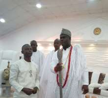 Ooni of Ife Receives Daily Trust Osun Correspondent