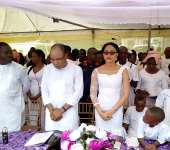Senator Emmanuel Onwe Bids Mother Farewell