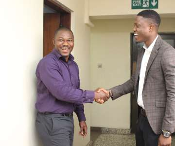 VECTOR WITH MR CHARLES AKINJOBI, INS SALES MANAGER OF VITAFOAM 2