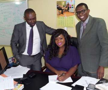 BEN COLLINS - MARKETING MANAGER, TOOLZ & CHARLES SOM ORIN - HEAD CORPORATE SERVICE