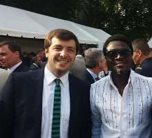 Lexy Mojo Eyes Meets The French President