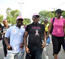 GENEVIEVE NNAJI, TOOLZ, MAI ATAFO, SEYI SHAY & MORE! HOUSE OF TARA SUPPORTS THE #PINKBALL RUN FOR CANCER