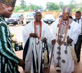 Friday, 18 August 2017 EXCLUSIVE PICTURES: The gathering of Oba's 2017 - Obasanjo, Alake 17-Aug-17