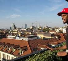 Nigerian Pop Icon 2Face Idibia Spotted in Milan Two Days After The Voice Nigeria