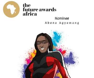 ABENA AGYEMANG - THE FUTURE AWARDS AFRICA PRIZE IN EDUCATION