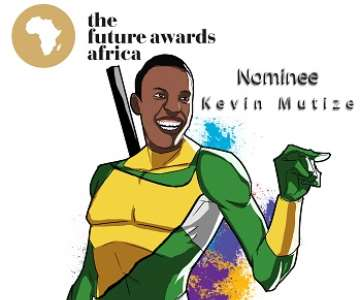 KEVIN MUTIZE - THE FUTURE AWARDS AFRICA PRIZE IN COMMUNI TY ACTION