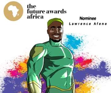 LAWRENCE AFESE - THE FUTURE AWARDS AFRICA PRIZE IN AGRICULTURE