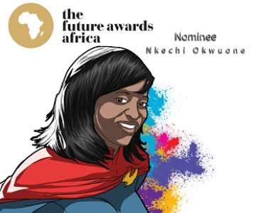 NKECHI OKWUONE- THE FUTURE AWARDS AFRICA PRIZE IN PUBLIC  SERVICE 2