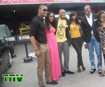 ALEX EKUBOR,A GUEST,MICHEAL,BEVERLY NAYA,BRYAN OKPALA AND A GUEST